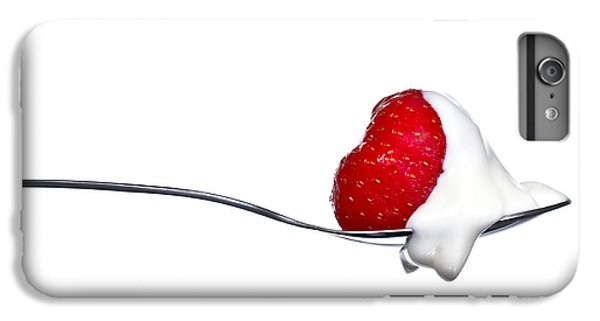 Strawberry And Cream IPhone 6 Plus Case by Gert Lavsen