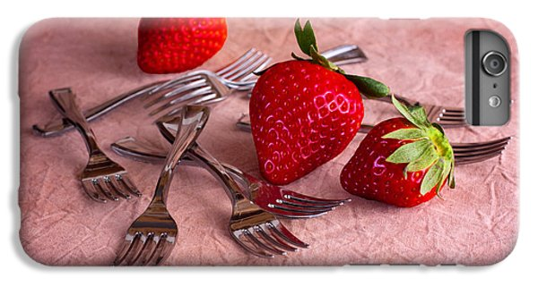 Strawberry Delight IPhone 6 Plus Case by Tom Mc Nemar