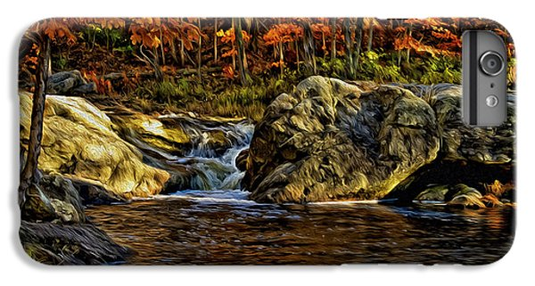 Stream In Autumn 57 In Oil IPhone 6 Plus Case by Mark Myhaver