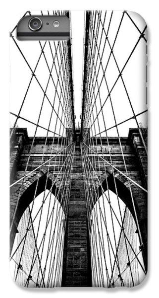 Brooklyn Bridge iPhone 6 Plus Case - Strong Perspective by Az Jackson