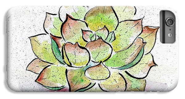 Desert iPhone 6 Plus Case - Succulent by Diane Thornton