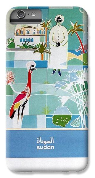 Emu iPhone 6 Plus Case - Sudan - Kuwait Airways Corporation - Kuwait - Retro Travel Poster - Vintage Poster by Studio Grafiikka