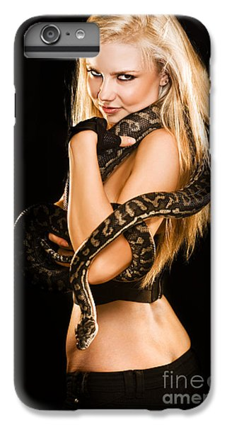 Python iPhone 6 Plus Case - Sultry Sedutive Snake Dancer by Jorgo Photography - Wall Art Gallery