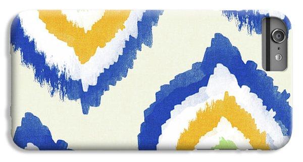 Summer Ikat- Art By Linda Woods IPhone 6 Plus Case by Linda Woods