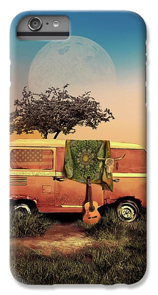 Folk Art iPhone 6 Plus Case - Summer Landscape by Bekim Art