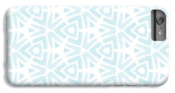 Blue iPhone 6 Plus Case - Summer Splash- Pattern Art By Linda Woods by Linda Woods