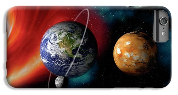 Sun And Planets IPhone 6 Plus Case by Panoramic Images