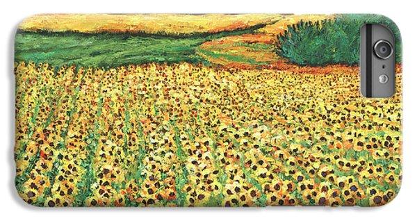 Sunflower iPhone 6 Plus Case - Sunburst by Johnathan Harris