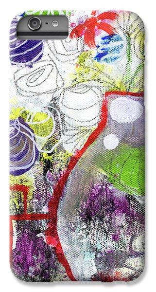 Tulip iPhone 6 Plus Case - Sunday Market Flowers 3- Art By Linda Woods by Linda Woods