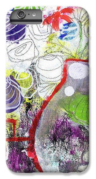 Sunday Market Flowers 3- Art By Linda Woods IPhone 6 Plus Case by Linda Woods
