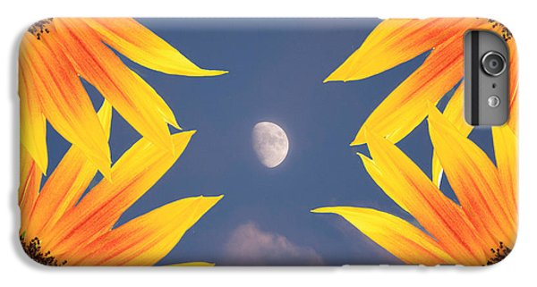 Sunflower Moon IPhone 6 Plus Case