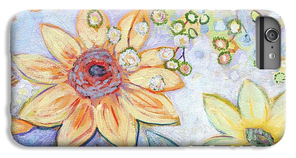 Sunflower iPhone 6 Plus Case - Sunflower Tropics Part 2 by Jennifer Lommers