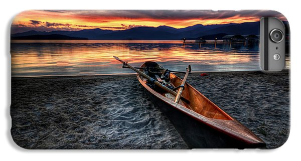 Boat iPhone 6 Plus Case - Sunrise Boat by Matt Hanson