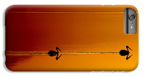 Pelican iPhone 6 Plus Case - Sunset Cruising by Laurie Search