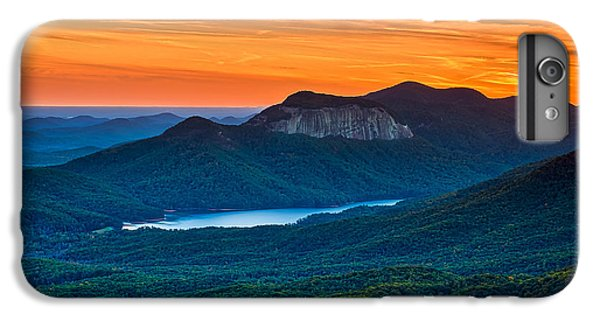 Sunset Over Table Rock From Caesars Head State Park South Carolina IPhone 6 Plus Case by T Lowry Wilson