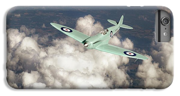 IPhone 6 Plus Case featuring the photograph Supermarine Spitfire Prototype K5054 by Gary Eason
