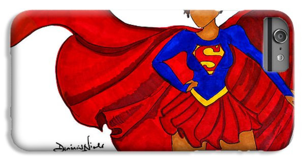 Superwoman I Am  IPhone 6 Plus Case by Diamin Nicole