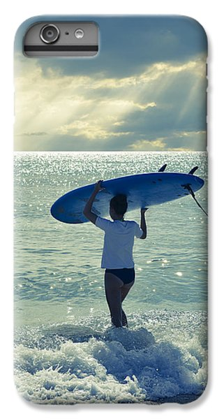 Beach iPhone 6 Plus Case - Surfer Girl by Laura Fasulo