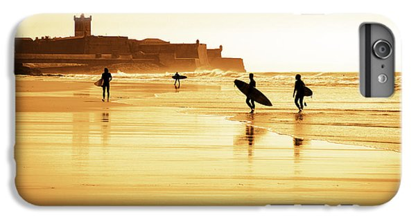 Surfers Silhouettes IPhone 6 Plus Case