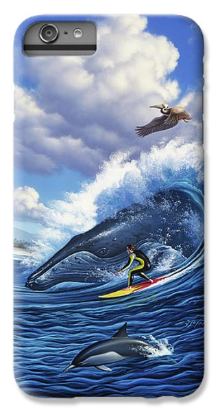 Pelican iPhone 6 Plus Case - Surf's Up by Jerry LoFaro