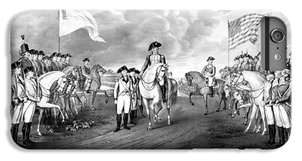 Surrender Of Lord Cornwallis At Yorktown IPhone 6 Plus Case by War Is Hell Store