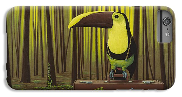 Toucan iPhone 6 Plus Case - Suspenders by Jasper Oostland