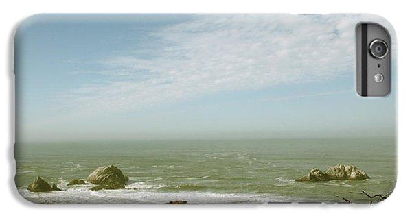 Pacific Ocean iPhone 6 Plus Case - Sutro Baths San Francisco by Linda Woods