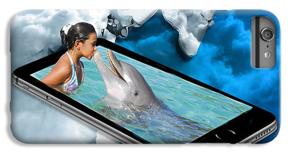 Swimming With The Dolphins IPhone 6 Plus Case