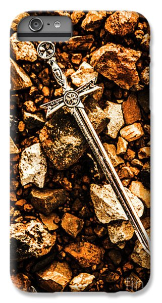 Rock Legend iPhone 6 Plus Case - Swords And Legends by Jorgo Photography - Wall Art Gallery