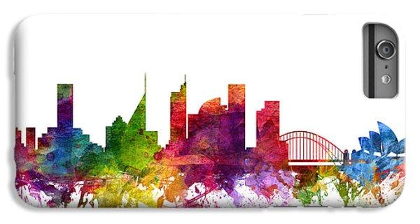 Sydney Australia Cityscape 06 IPhone 6 Plus Case by Aged Pixel