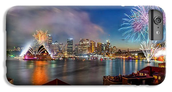 Sydney Sparkles IPhone 6 Plus Case by Az Jackson