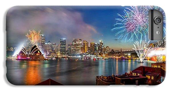 Sydney Sparkles IPhone 6 Plus Case by Az Jackson