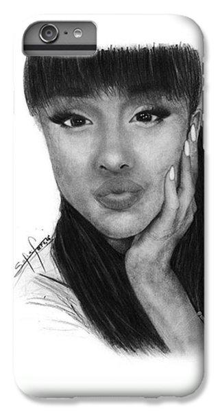 iPhone 6 Plus Case - Ariana Grande Drawing By Sofia Furniel by Jul V