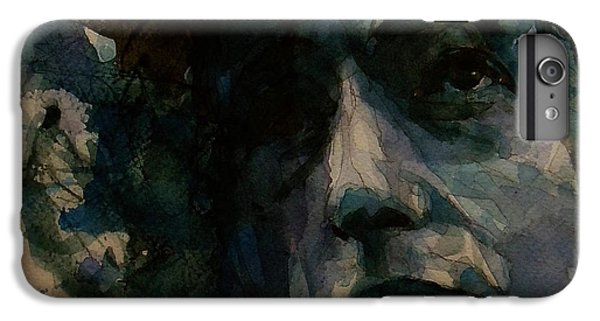Tagged Up In Blue- Bob Dylan  IPhone 6 Plus Case