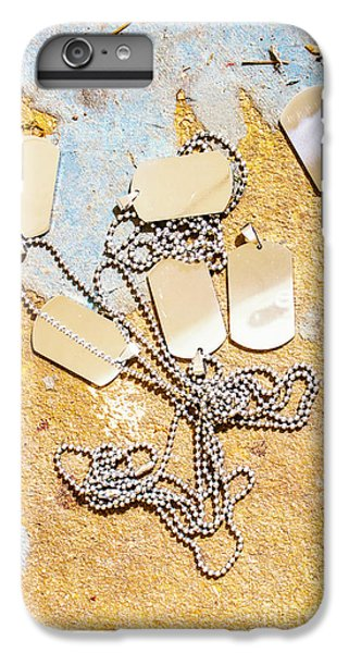 IPhone 6 Plus Case featuring the photograph Tags Of War by Jorgo Photography - Wall Art Gallery