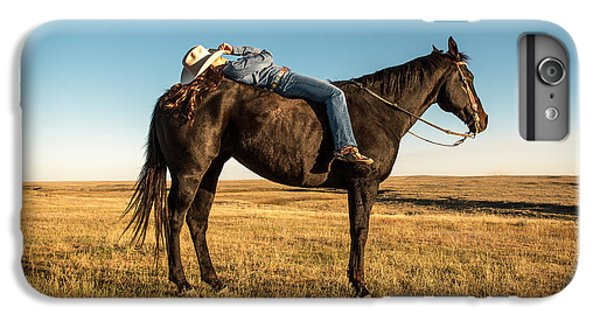 Horse iPhone 6 Plus Case - Taking A Snooze by Todd Klassy