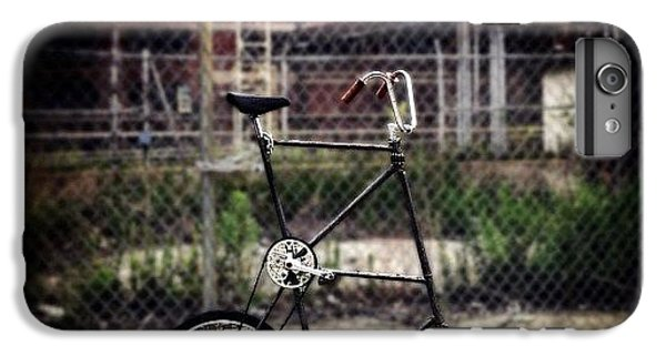 Bestoftheday iPhone 6 Plus Case - Tall Bike by Natasha Marco