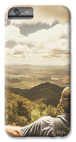 Nature Trail iPhone 6 Plus Case - Tasmanian Hiking View by Jorgo Photography - Wall Art Gallery