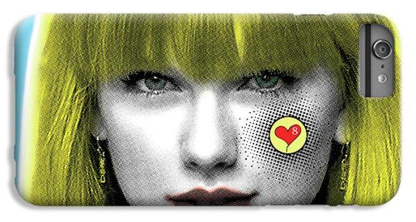 Taylor Swift, Pop Art, Portrait, Contemporary Art On Canvas, Famous Celebrities IPhone 6 Plus Case by Dr Eight Love