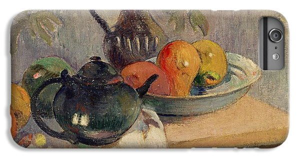 Teiera Brocca E Frutta IPhone 6 Plus Case by Paul Gauguin