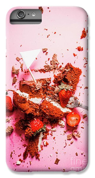 Strawberry iPhone 6 Plus Case - Temptation Surrender  by Jorgo Photography - Wall Art Gallery