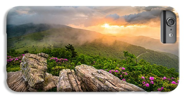 Mountain Sunset iPhone 6 Plus Case - Tennessee Appalachian Mountains Sunset Scenic Landscape Photography by Dave Allen