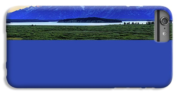 IPhone 6 Plus Case featuring the photograph Teton Sunset by David Chandler