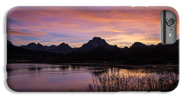 IPhone 6 Plus Case featuring the photograph Teton Sunset by Gary Lengyel