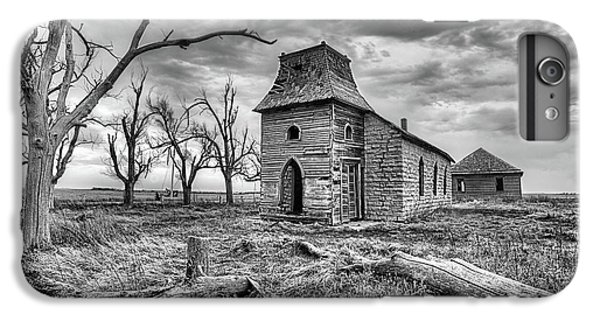 IPhone 6 Plus Case featuring the photograph That Old Time Religion Black And White by JC Findley