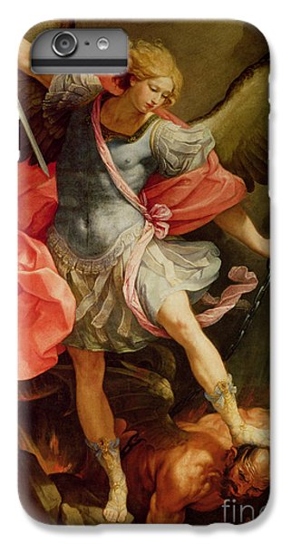 The Archangel Michael Defeating Satan IPhone 6 Plus Case