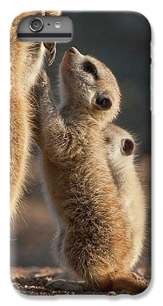The Baby Is Hungry IPhone 6 Plus Case by Happy Home Artistry