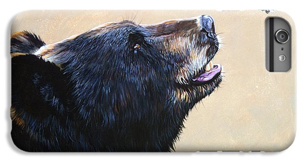 Wildlife iPhone 6 Plus Case - The Bear And The Hummingbird by J W Baker