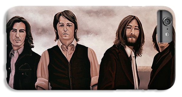 Rock And Roll iPhone 6 Plus Case - The Beatles 3 by Paul Meijering