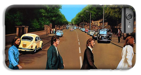 The Beatles Abbey Road IPhone 6 Plus Case by Paul Meijering